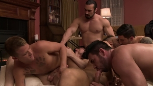 Icon Male - Vadim Black riding a dick scene