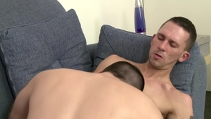 IconMale: James Hamilton and hairy Aaron Slate blowjob