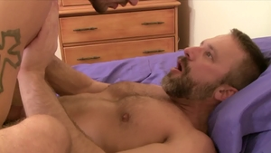 Icon Male: DILF Dirk Caber plowed by huge dick Ty Roderick