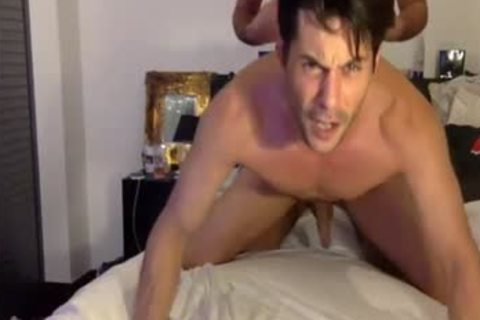 Hungry cock In wazoo And throat