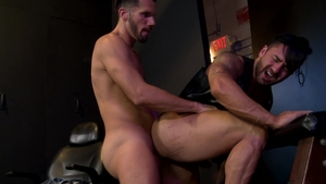 Extra Big Dicks - Bruno Bernal jerking Marco Lorenzo huge cock