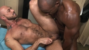 ExtraBigDicks - Gay Jessie Colter bareback anal interracial