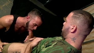 Men Over 30 - European Julian Knowles cock sucking