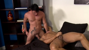 MenOver30.com - Rego Bello jerking Bruno Bernal big cock