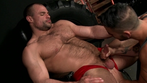 MenOver30: Loud sex together with Cesar Rossi Jaxx Thanatos