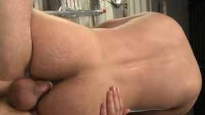 PrideStudios - Condom blowjobs with muscled gay Rico Leon