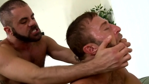 PrideStudios: Gay Damon Andros pounded by huge cock daddy