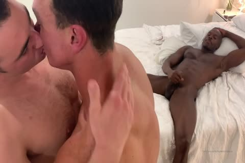 lovely homo gang-sex With Muscled Hunks At Home