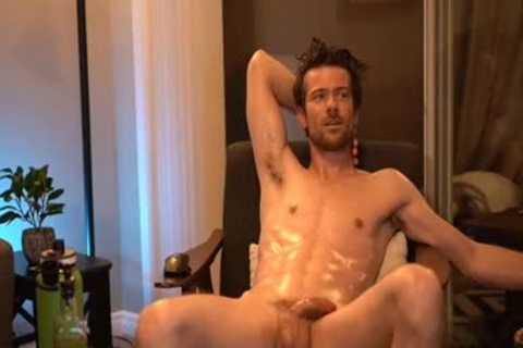 attractive guy On cam Smoking