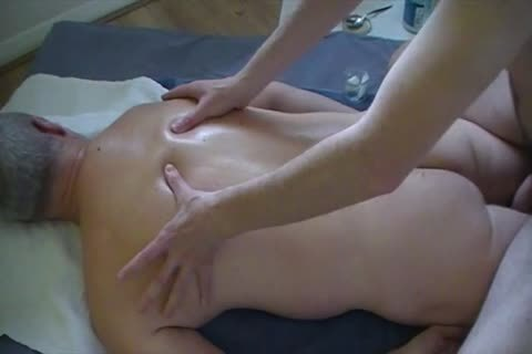 Body-to-Body Massage Session Client clip