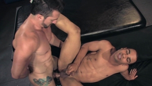 Raging Stallion - Tight Jimmy Durano kissing each other