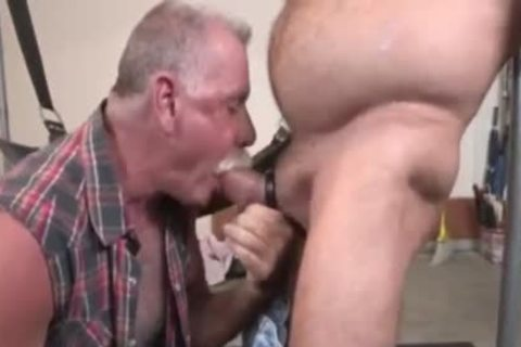 Two Daddies Slinging fuck