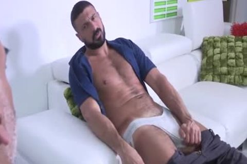 Brian Davilla And Marco Napoli - Bearded Bald Hung Beardad-bearded Hunk: Hj-rim-bb-blowjob-hj-sperm