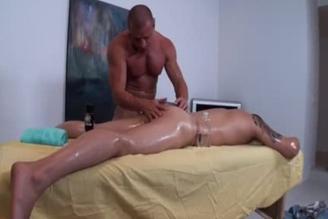 Tyler Saint homosexual Massage