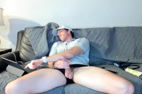delicious Married Daddy Jerks Off On cam